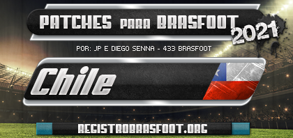 Patch Brasfoot 2021 - Chile