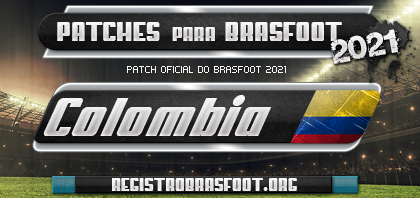 Patch Brasfoot 2021 - Colombia